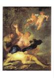 レアンドロスの死を嘆き悲しむヘロ
