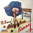 Fanny 13 à 0