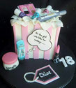 Benifit Makeup birthday cake
