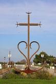 Bild: Kreuz der Camargue in Saintes-Maries-de-la-Mer