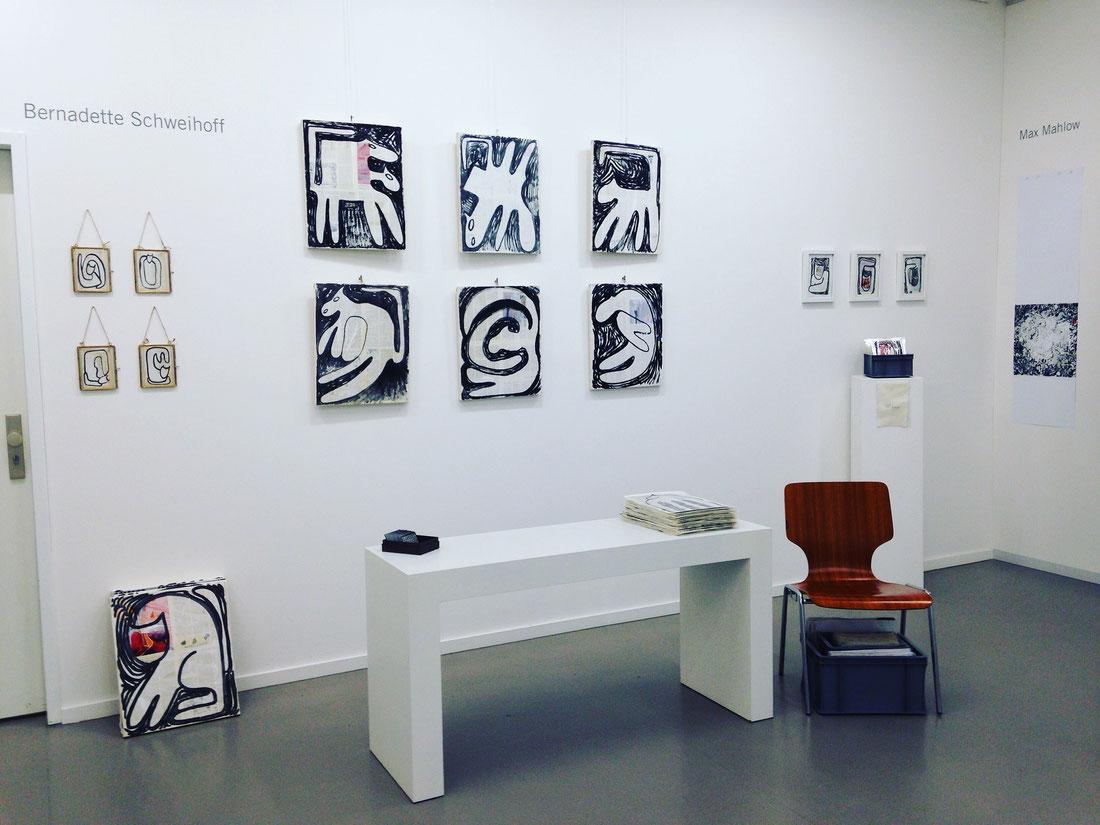 Bernadette Schweihoff, Kommunale Galerie, 3 Tage Kunst, Animalforms, 2017