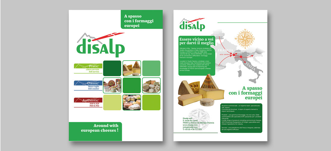 Couverture catalogue Disalp