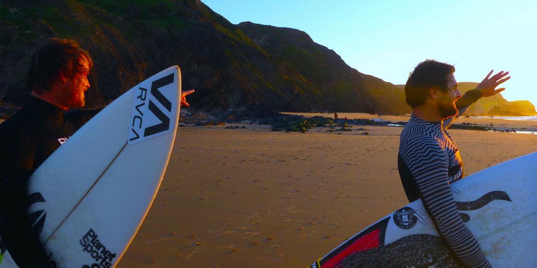 video surf coaching Algarve Marlon Lipke Gony Zubizarreta