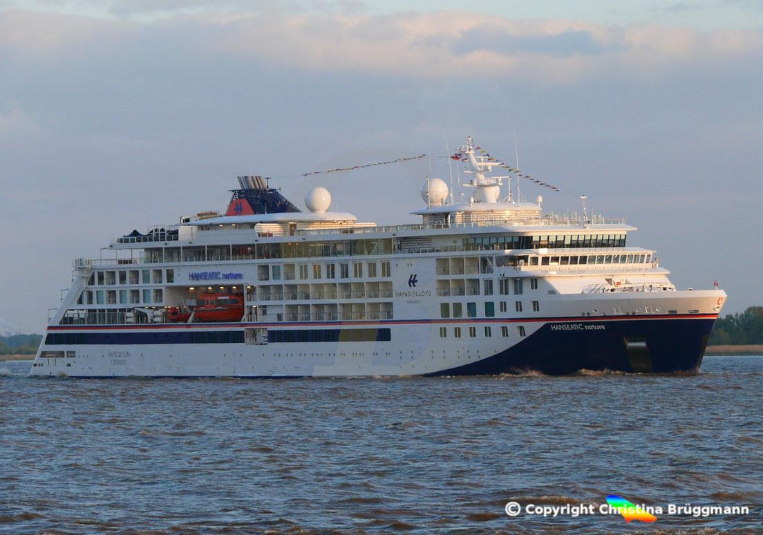 Hapag-Lloyd Kreuzfahrtschiff HANSEATIC NATURE