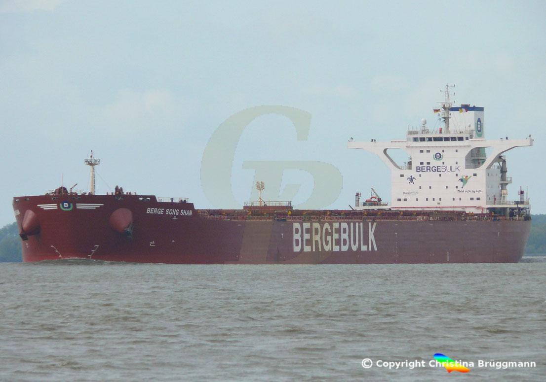 Bulk Carrier Berge Song Shan, Imo: 9436513