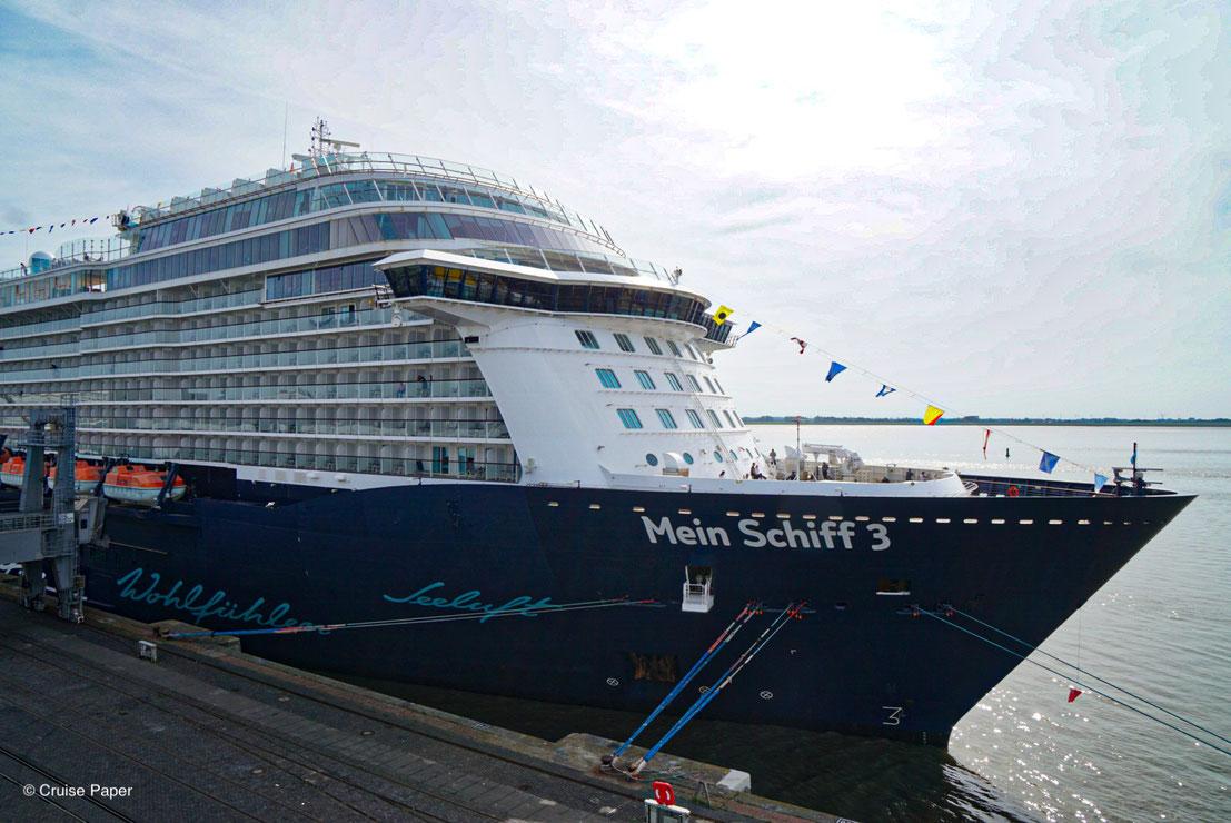 Mein Schiff 3 Bremerhaven