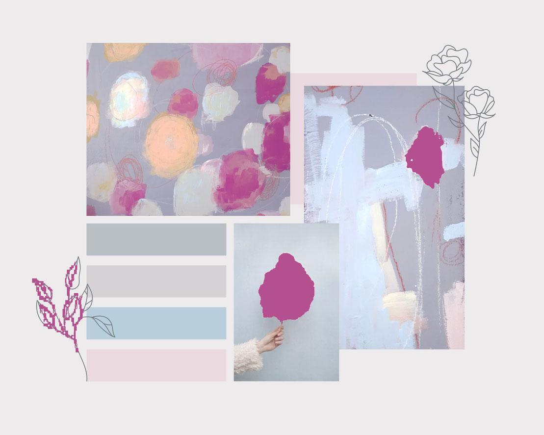moodboard - rosa