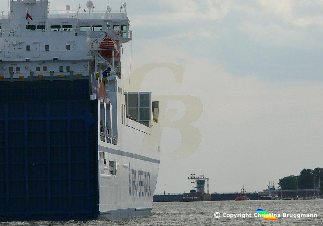 Für große Schiffe bleibt der Nord-Ostsee-Kanal bis Mittwoch gesperrt
