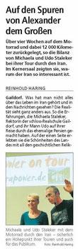 Gaildorfer Rundschau vom 21.11.14