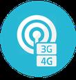 Couverture réseau mobile 3G & 4G - Gîte de France 3 épis - Domaine de Morgard - Gîte Indre (36) - Gîte Brenne