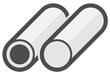 PTFE Rohr Stab Halbzeug, Technophyon