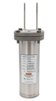 Mechatest sample coolers - Sentry TSR steam cooler - helical coil coolers, Sentry coolers, shell vase cooler closed