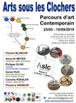 Arts sous les Clochers - Affiche du Parcours d'Art 2019
