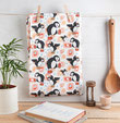 Puffin Tea Towel from Helen Russell Creations