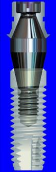 Implantes de conexión cónica