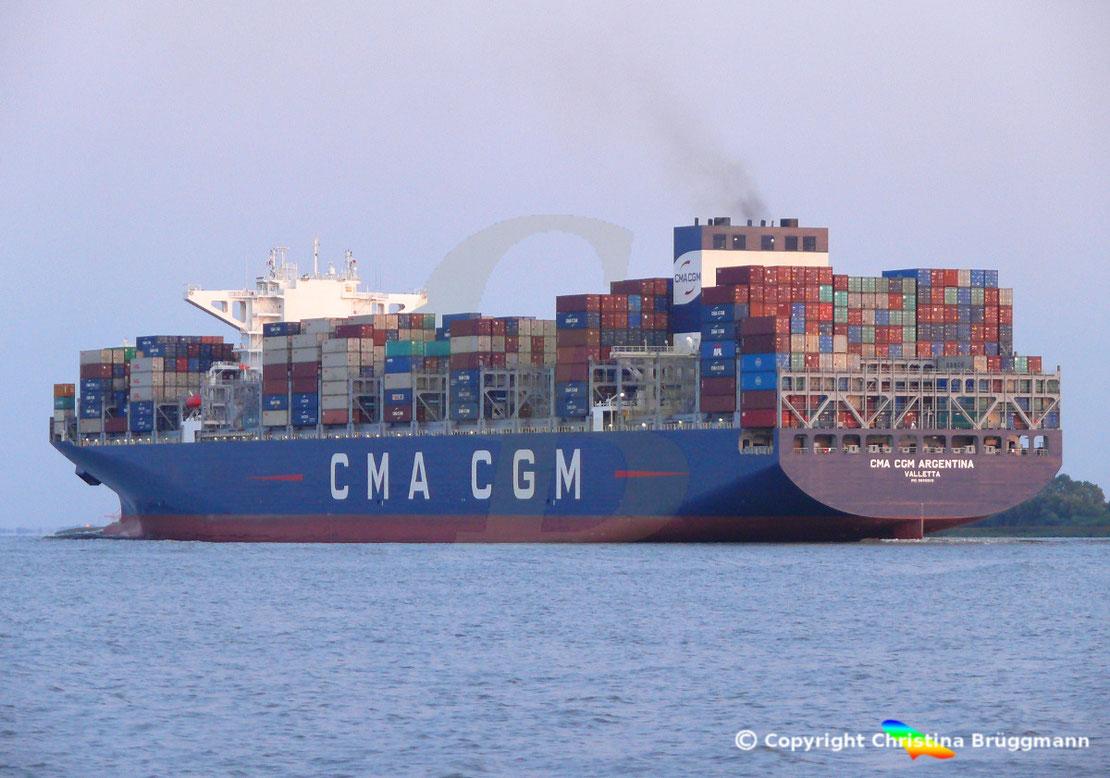 Containerschiff CMA CGM ARGENTINA