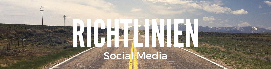 Richtlinien für Social Media