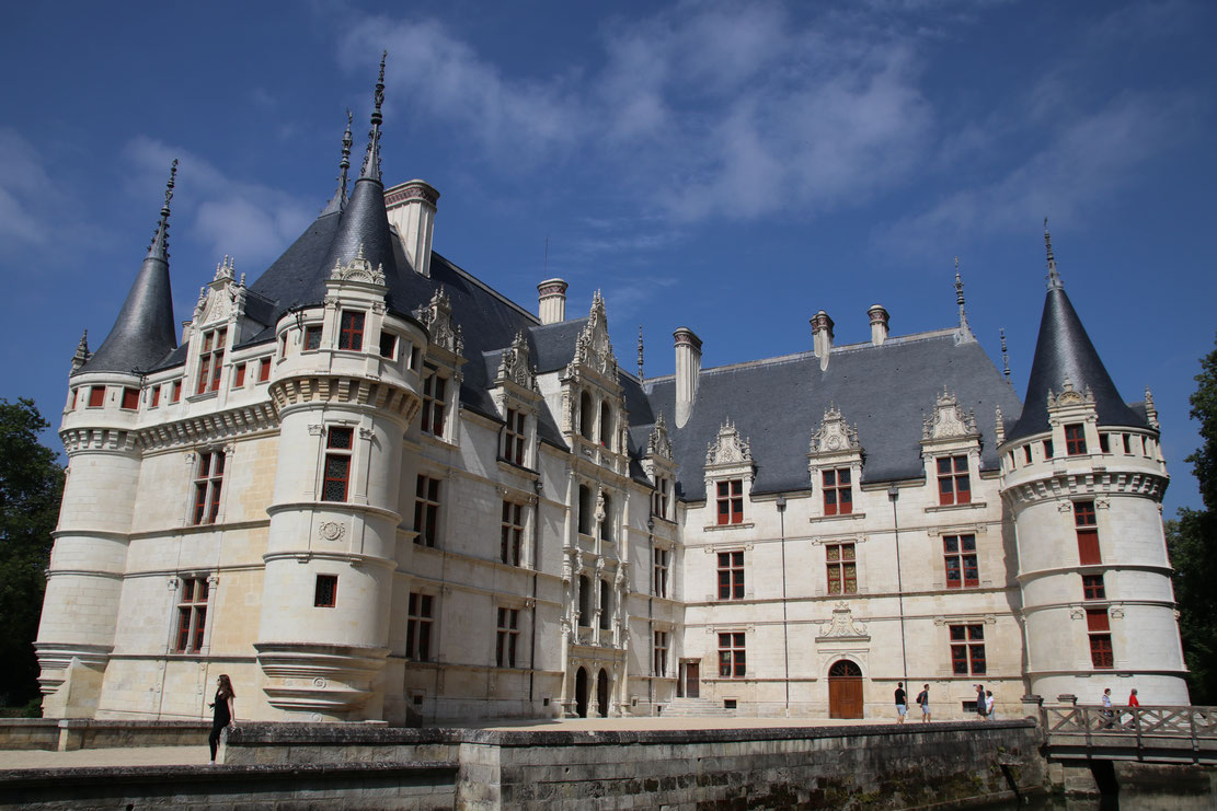 Château d'Azay-le-Rideau | Touraine | Val de Loire ©Emilie Boillot