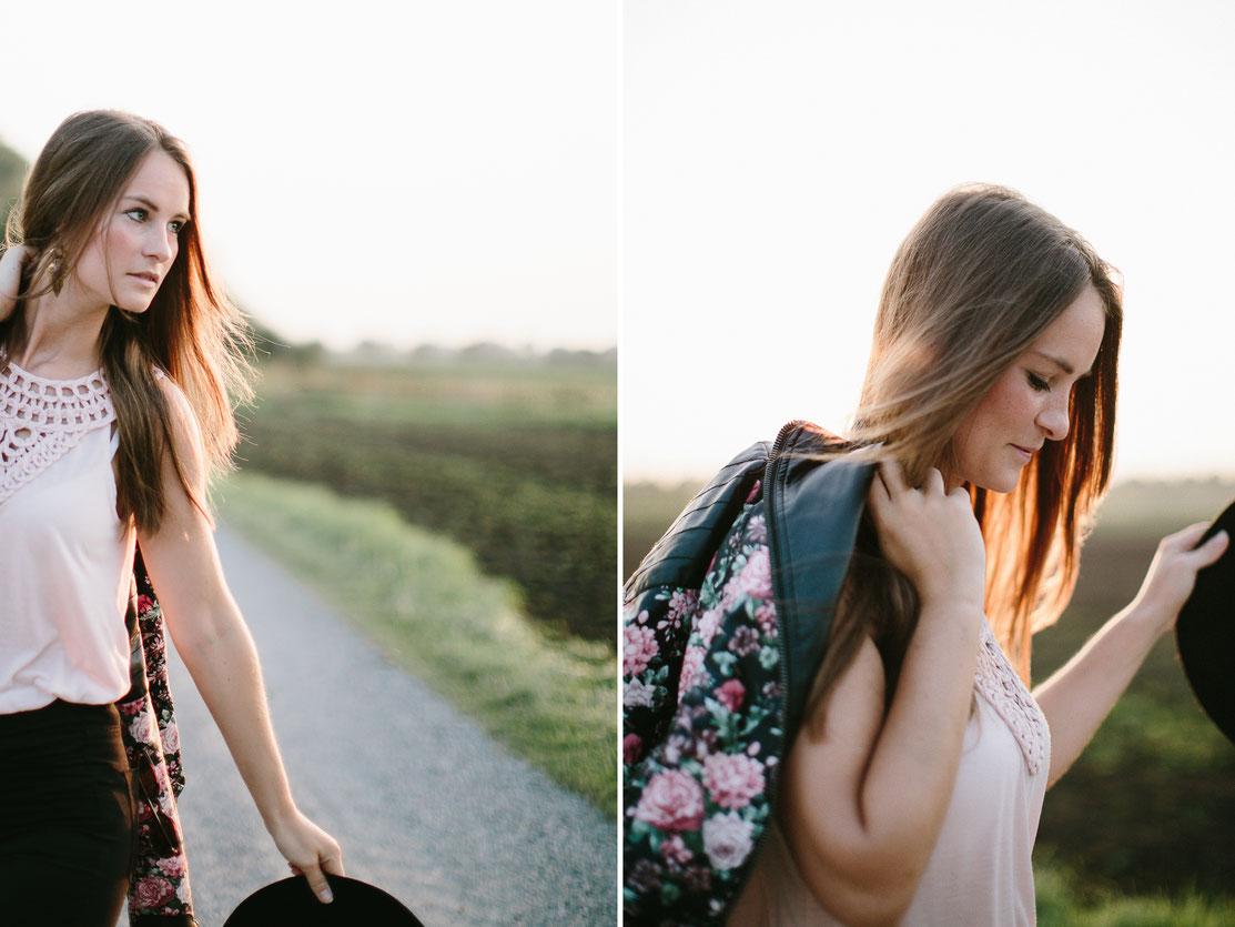 Fashion, portrait, Mode, outdoor, sunset, Sonnenuntergang, woman, canon, 5d3, Sabine Lange, Hochzeitsfotografie, wedding
