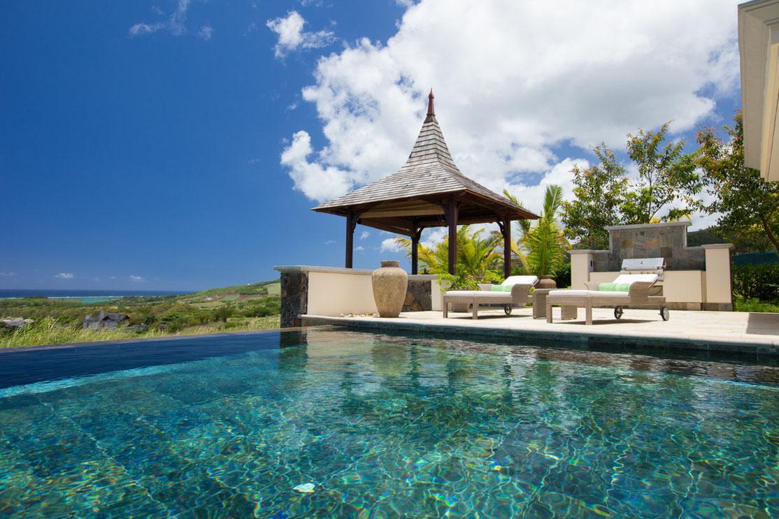 Irs villas valriche villa vue mer sur golf l 39 ile for Acheter maison ile maurice