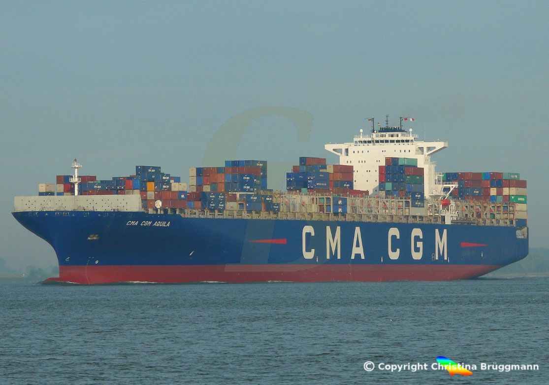 Containerschiff CMA CGM AQUILA