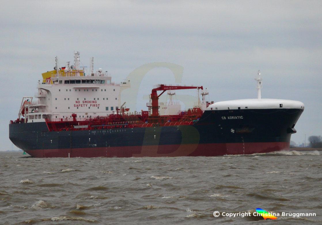 Tanker CB ADRIATIC
