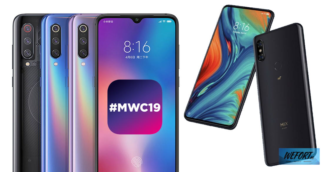 Xiaomi Mi 9 y Mi Mix 3 5G en el Mobile World Congress 2019 de Barcelona