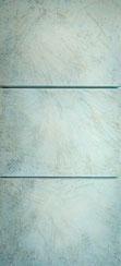 Mirtos 1 150x70 cm Spachtelmasse, Sand, Tempera auf Leinwand