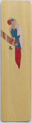 Marque-page Perroquet - 20 x 5