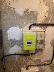 deplacement contacteur chauffe eau depuis gaine technique dans appartement marseille 13006