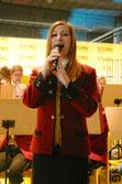 Marie-Christin Stockinger bereicherte mit Gesangssolos das Konzert