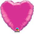 Folienballon Herz pink Heliumballon Kindergeburtstag Deko Dekoration Mädchen Party Bouquet