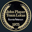 John Player Team Lotus Ronnie Peterson 1975