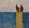 DUE Baumrinde / Acryl / Lwd. 30 x 30 cm
