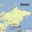 Bild: Der Kontinent Asien