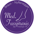 Druckatelier46 Mülchi - Gestaltung Logo Fusspraxis Nyffenegger