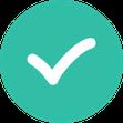 Button Häkchen als Symbol für die Leistungen der Seminar-Versicherung der ERGO
