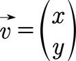 Beispiel für einen Vektor