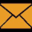 Briefumschlag-Icon als Symbol zum Weitersagen der Seminar-Corona-Versicherung mit Quarantäne für Seminar-Teilnehmer