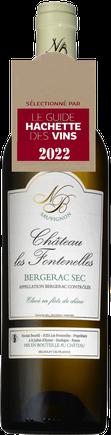 Bergerac blanc sec Prestige fûts Château Les Fontenelles