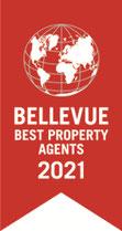 Auszeichnung Bellevue Best Property Agents für VERDE Immobilien