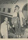 Awrey und Speyer 1964 am Grazer Flughafen