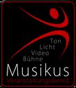 Musikus Veranstaltungsdienst, Veranstaltungstechnik mieten und kaufen im Landkreis Osnabrück. Tontechnik, Lichttechnik, Bühnentechnik, Medientechnik.
