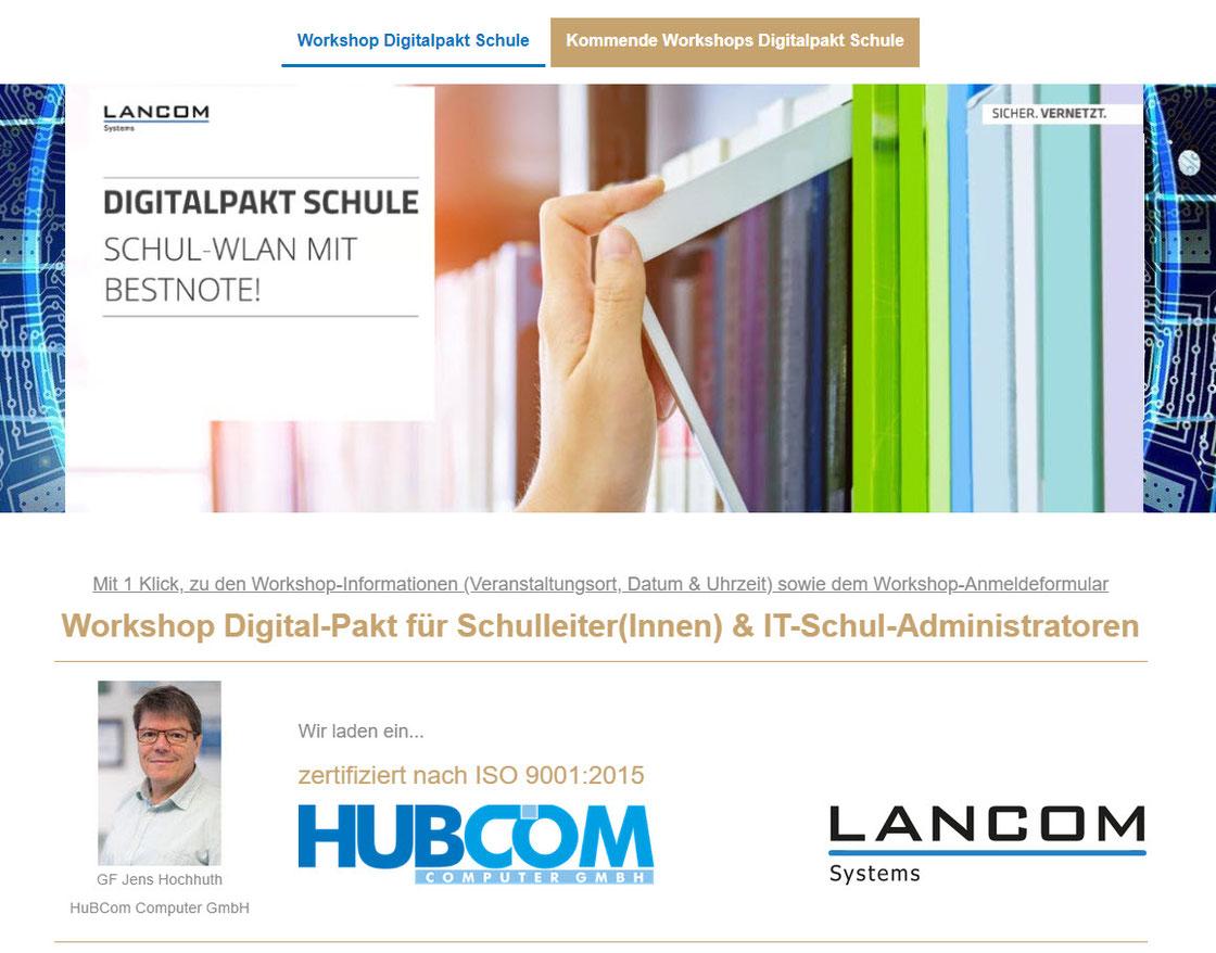 Per Klick ins Bild erfolgt eine Weiterleitung zu https://www.hubcom.de/.