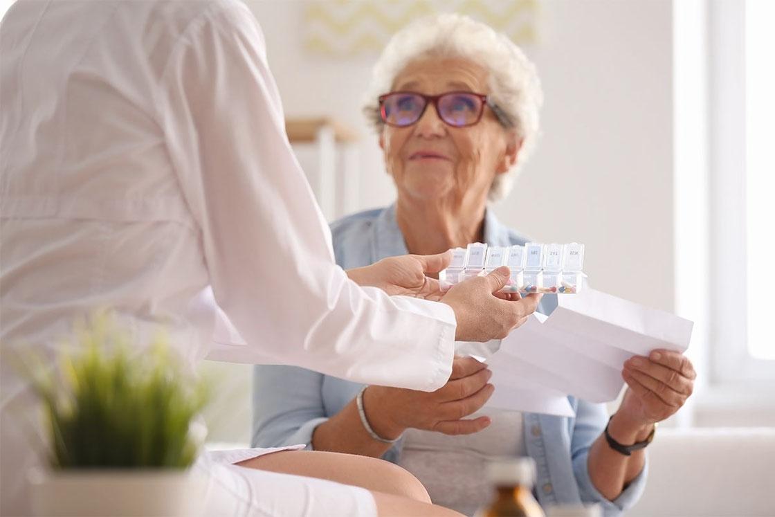 Pflegeeinrichtungen  erhalten die komplette Arzneimittelversorgung von der Marien-Apotheke Reken