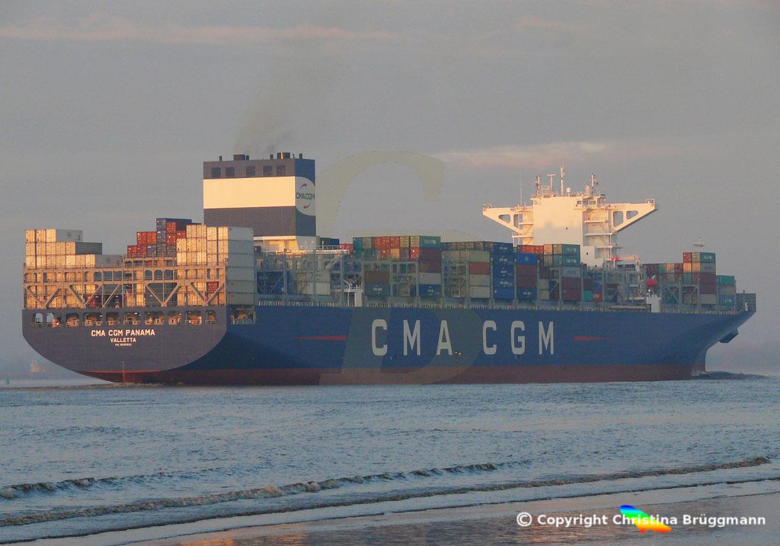 Containerschiff CMA CGM PANAMA