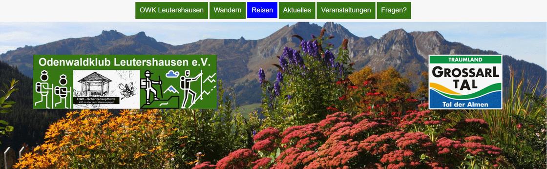 Bildauszug 2018 Reise ins Grossarltal der Seite https://www.owk-leutershausen.de/reisen/