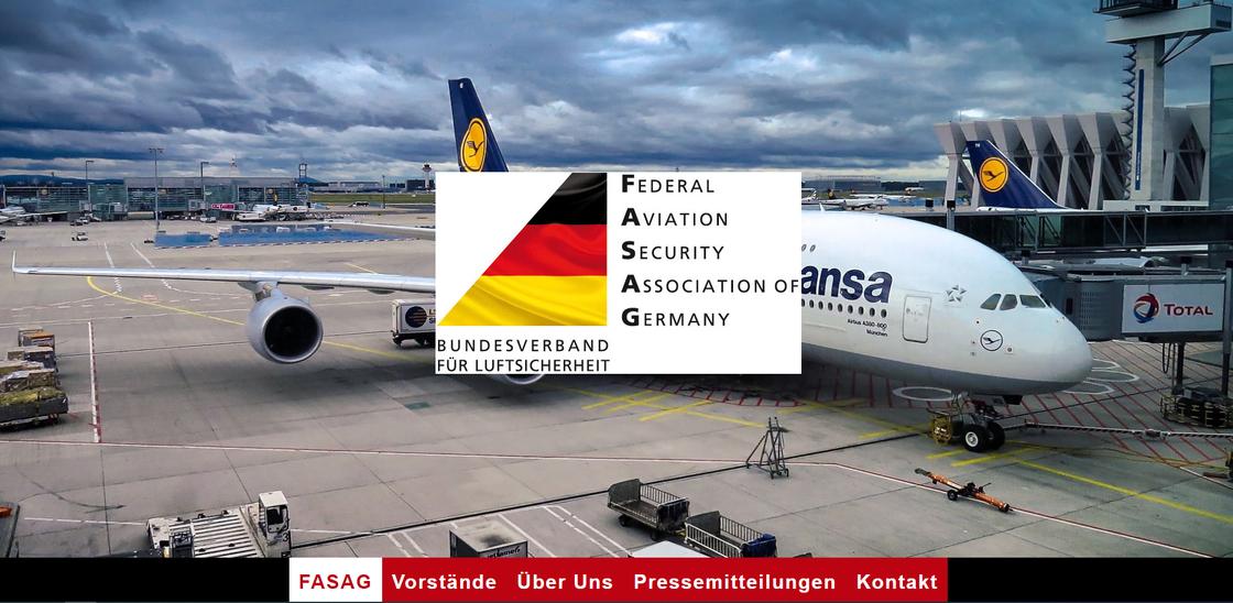 Bild: Startseite der FASAG-Homepage https://www.fasag.org/