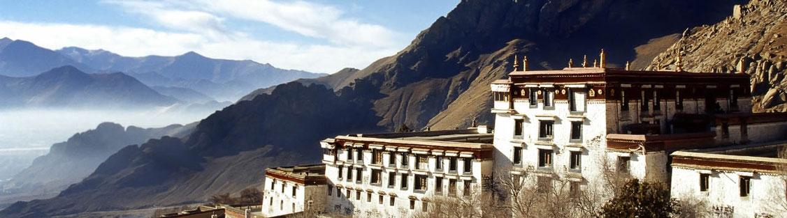 Trekking zu den Nomaden von Tibet und zum blauen Yamdrok Tso