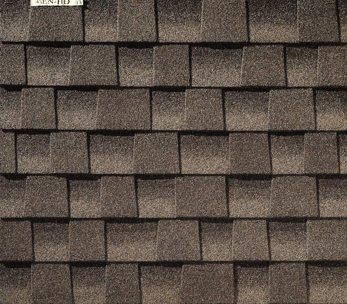 amerykański gont gaf, pokrycia dachowe, timberline hd w kolorze mission brown